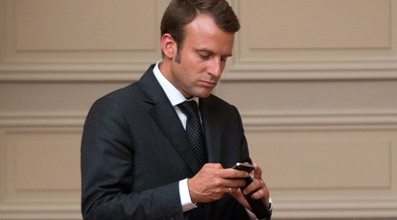 Pegasus issue: French President Emmanuel Macron changes his mobile phone and contact number for security | Sangbad Pratidin
