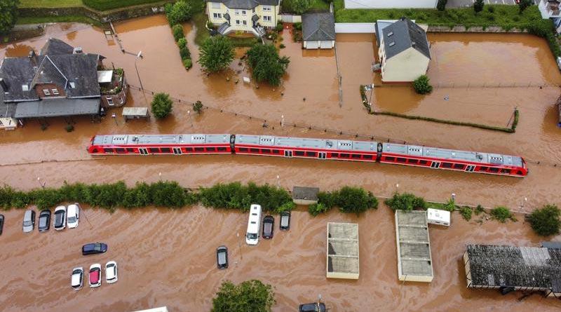 Over 90 dead, hundreds missing after floods in Germany   Sangbad Pratidin
