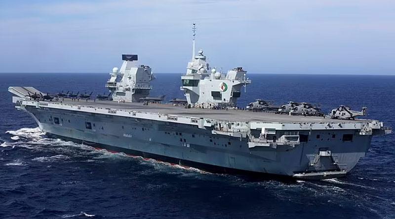 Covid outbreak hits British Navy flotilla including 'at least 100 HMS Queen Elizabeth | Sangbad Pratidin