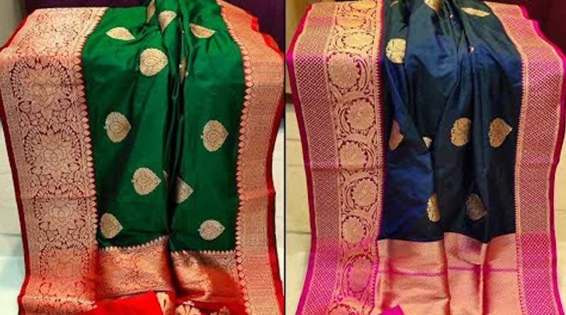 Weaved QR Code tell the identity of pure handloom banarasi । Sangbad Pratidin