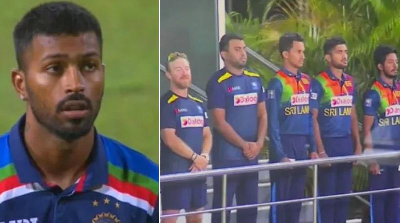 Fans spot Hardik Pandya singing Sri Lankan national anthem during 1st ODI in Colombo, video goes viral | Sangbad Pratidin