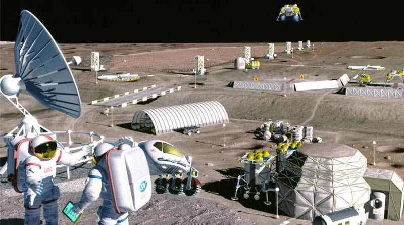 Weapons maker company in USA to build homes on moon orbit under NASA contract | Sangbad Pratidin