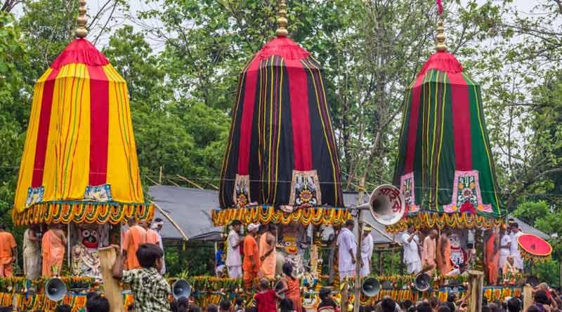 Rath Yatra to be a scaled-down affair at ISKCON in Mayapur ।Sangbad Pratidin