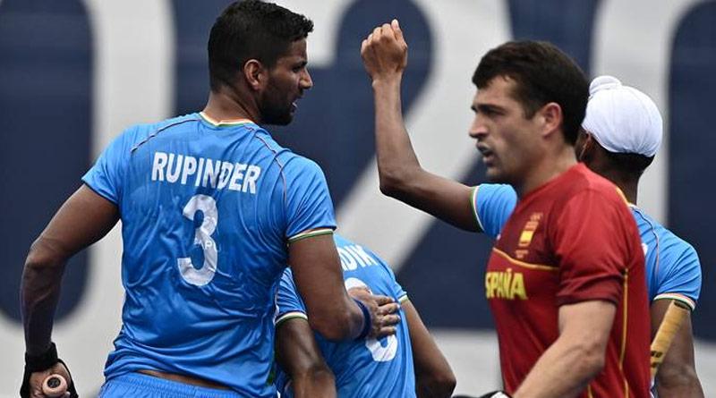 Tokyo Olympics Hockey: India takes a well-deserved victory, wins 3-0 vs Spain | Sangbad Pratidin