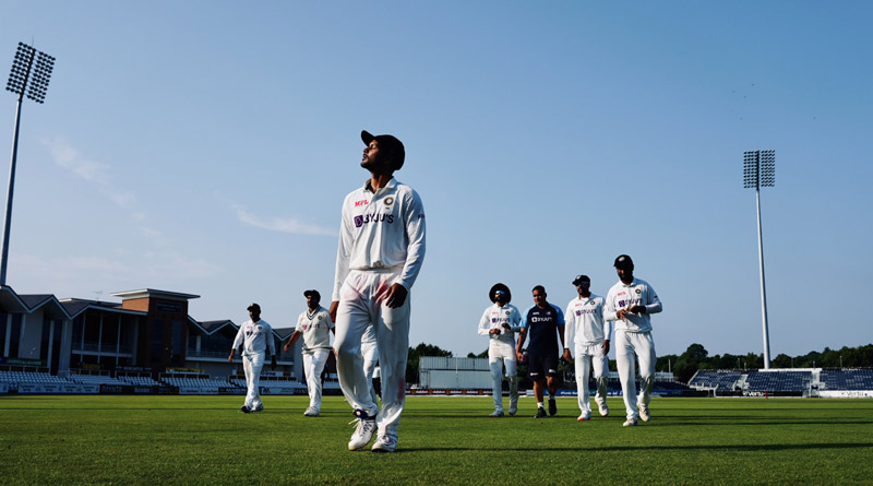 India vs County Select XI: Indian pacers performed well to restrict county team | Sangbad Pratidin