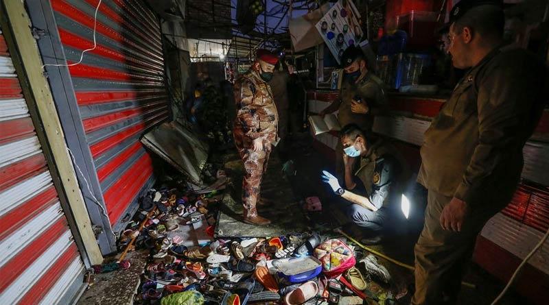 Suicide attack in Iraq kills at least 35, wounds dozens   Sangbad Pratidin