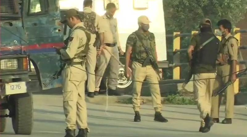 Two LeT terrorists were gunned down by the security forces in an encounter in the Danmar area of Srinagar । Sangbad Pratidin