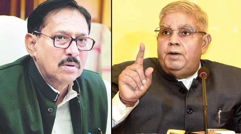 West Bengal assembly speaker Biman Banerjee may meets with governor Jagdeep Dhankhar । Sangbad Pratidin
