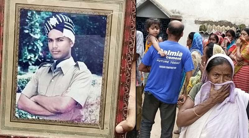 Family mournfull over Police constable death at Red Road accident in Kolkata | Sangbad Pratidin