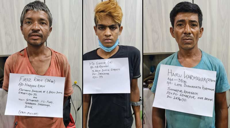 Police arrested three person in Jorasanko murder case । Sangbad Pratidin
