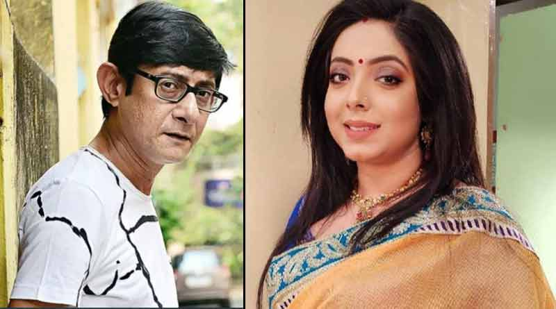 Sreemoyee Chattoraj share her and Kanchan Mullick Puja picture | Sangbad Pratidin