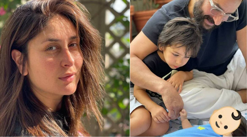 Kareena Kapoor-Saif Ali Khan name their younger son Jeh | Sangbad Pratidin