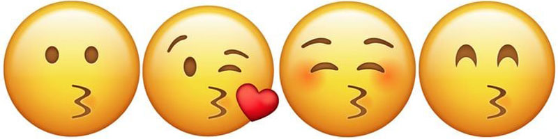 Kissing Emoji real meaning
