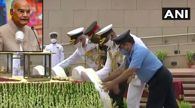 Kargil Vijay Diwas: President Kovind's Dras visit cancelled due to bad weather, he pays tribute from Baramulla, Jammu and Kashmir | Sangbad Pratidin