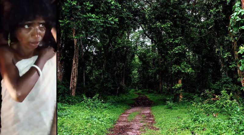 'Witch' sparks panic among locals at Lataguri forest । Sangbad Pratidin