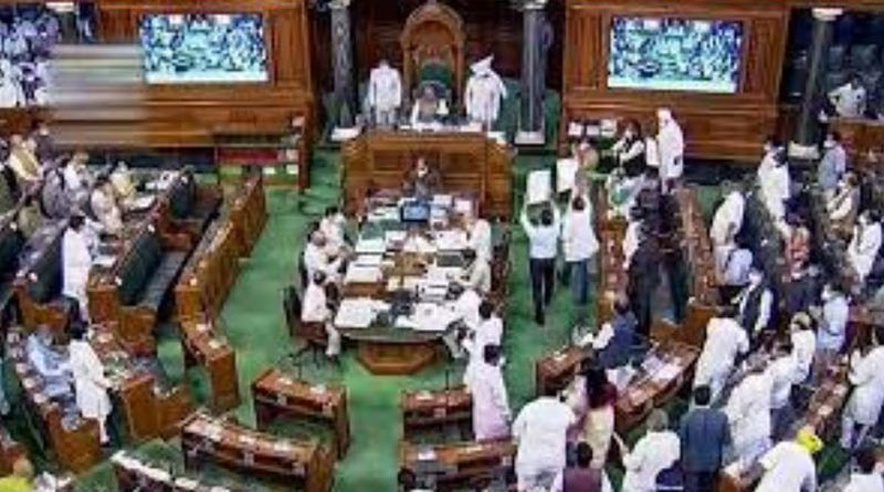 9 Lok Sabha MPs likely to be suspended for throwing papers at chair | Sangbad Pratidin