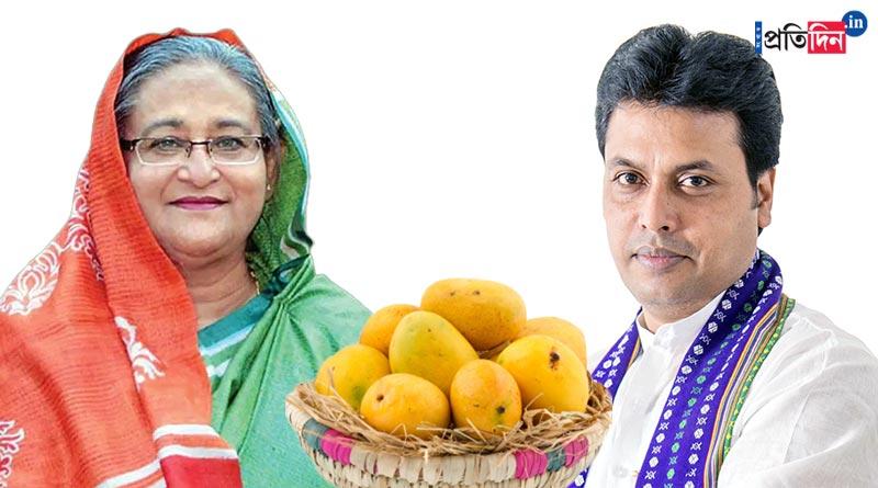 Bangladesh PM Sheikh Hasina sends special Mango for Tripura CM Biplab Kumar Deb | Sangbad Pratidin