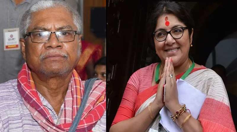 BJP MP Locket Chatterjee open up about TMC MLA Manoranjan Byapari's facebook post ।Sangbad Pratidin