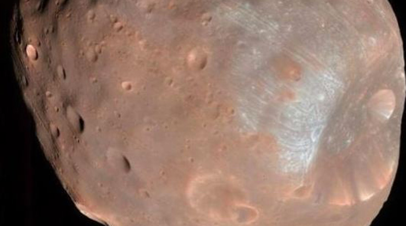 Nasa has shared an image of a Mars moon Phobos | Sangbad Pratidin