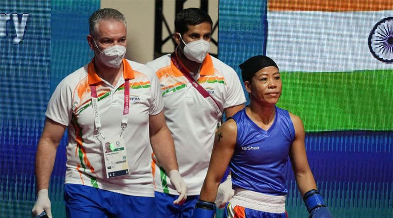 Tokyo Olympics: I was asked to change my ring dress a minute before my bout says Mary Kom | Sangbad Pratidin