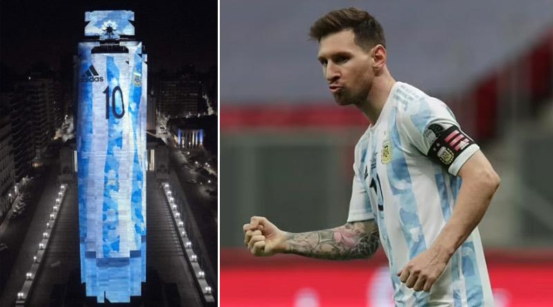 Copa America final: Monumental tribute to Messi in Rosario | Sangbad Pratidin
