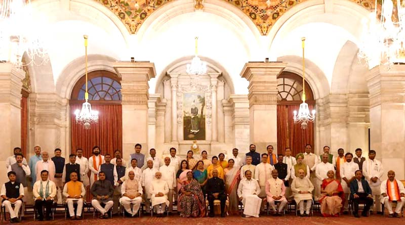 Union Cabinet: 42% of Ministers face criminal cases and 90% are crorepatis | Sangbad Pratidin
