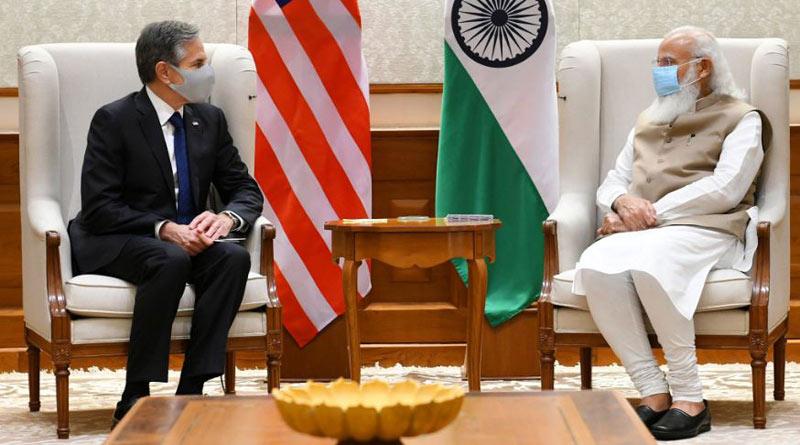 US Secretary of State Antony Blinken Meets PM Modi | Sangbad Pratidin