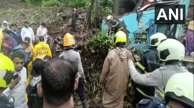 Atleast 22 killed in Mumbai after building and wall collapsed due to heavy rain | Sangbad Pratidin