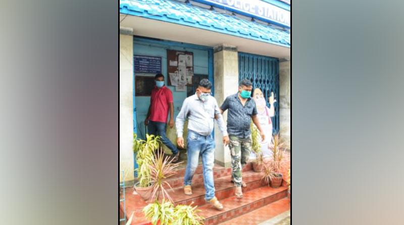 Fake IAS arrested from Kalyani | Sangbad Pratidin