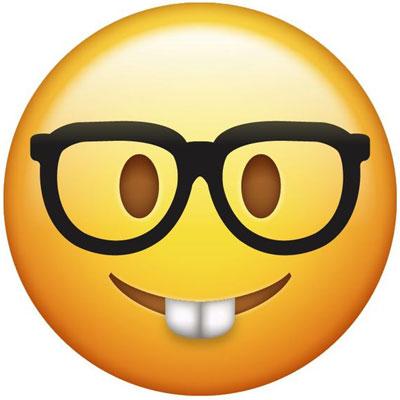 Nerd emoji meaning