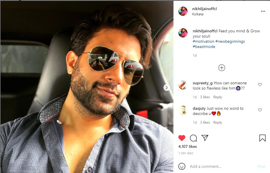 Here is what Nikhil Jahan posted on Instagram