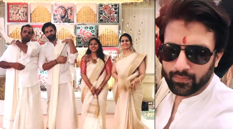Nikhil Jain Dances in tune of Lungi Dance in Wedding Function | Sangbad Pratidin