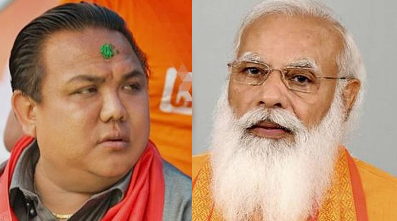 Bengal MLA Neeraj Zimba expresses disappointment over non-inclusion of Raju Bista in Union Cabinet   Sangbad Pratidin