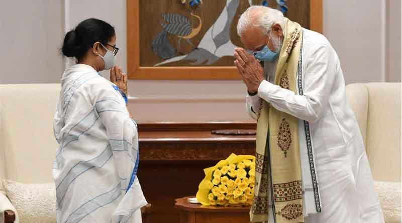 WB CM Mamata Banerjee meets with PM Narendra Modi at Delhi | Sangbad Pratidin