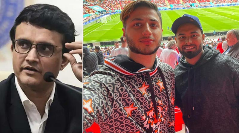 Rishabh Pant faces heat for not wearing mask at Euro 2020 match, Sourav Ganguly comes to his defence | Sangbad Pratidin