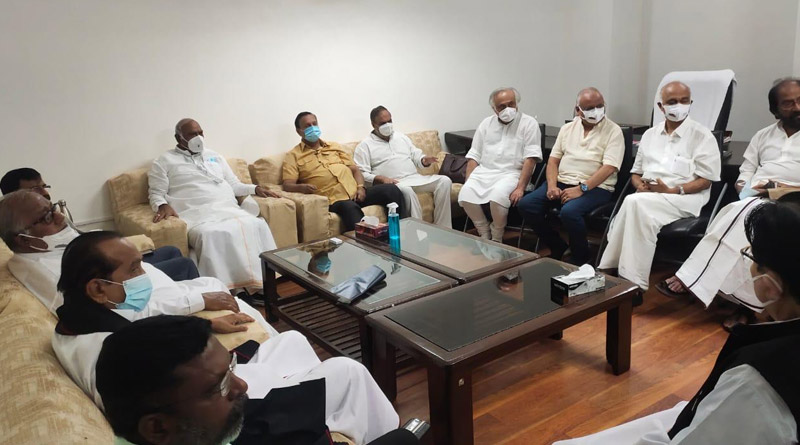 Opposition parties held a meeting at LoP office in Parliament House, TMC also joined | Sangbad Pratidin