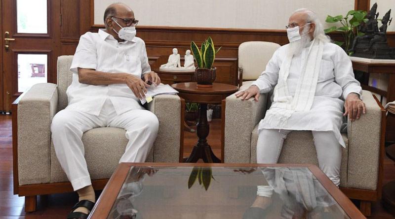 Sharad Pawar meets PM Modi, flags Amit Shah's new ministry | Sangbad Pratidin