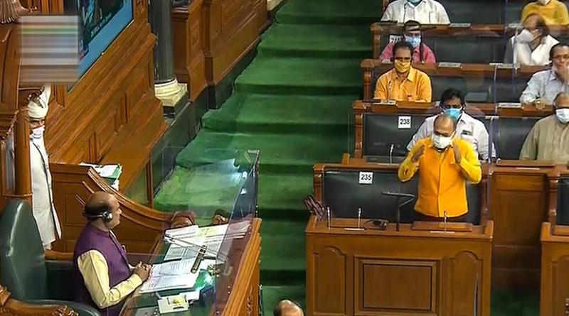 Lok Sabha speaker Om Birla says he feels ''very hurt'' over opposition MPs flinging papers at chair | Sangbad Pratidin
