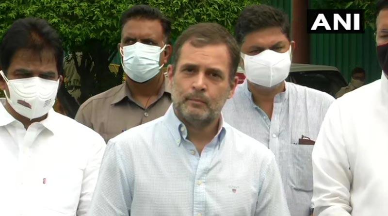 Rahul Gandhi attacks Modi govt after Centre 'backtracks' on vaccination deadline | Sangbad Pratidin
