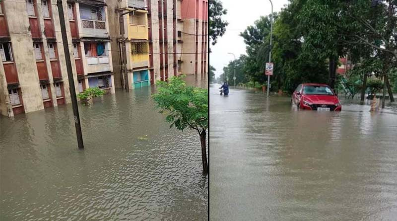 All over West Bengal waterlogged due to heavey rainfall, people are facing problems | Sangbad Pratidin
