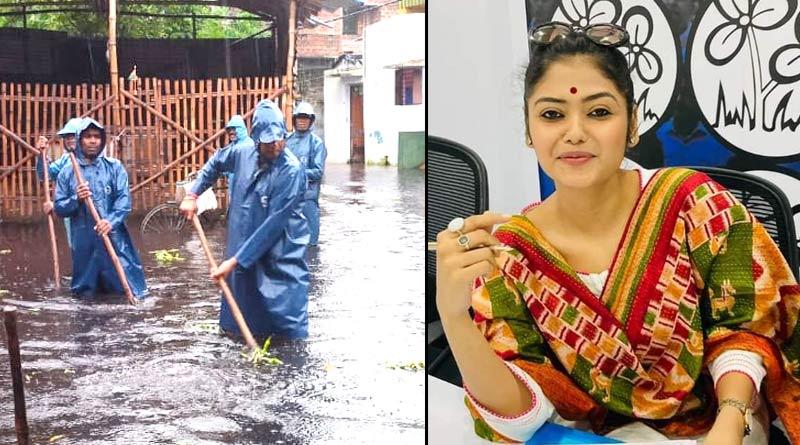 Saayoni Ghosh helped People of Asansol Dakshin | Sangbad Pratidin