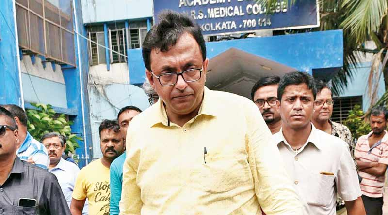 A youth arrested over the allegation of cheating TMC MP Shantanu Sen । Sangbad Pratidin