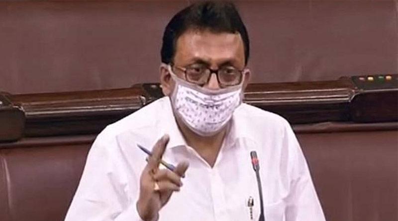 Shantanu Sen suspended from Rajya Sabha for the rest of the Monsoon Session | Sangbad Pratidin