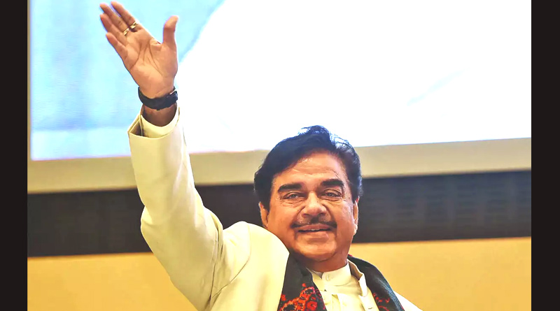 Shatrughan Sinha likely to join Trinamool Congress   Sangbad Pratidin
