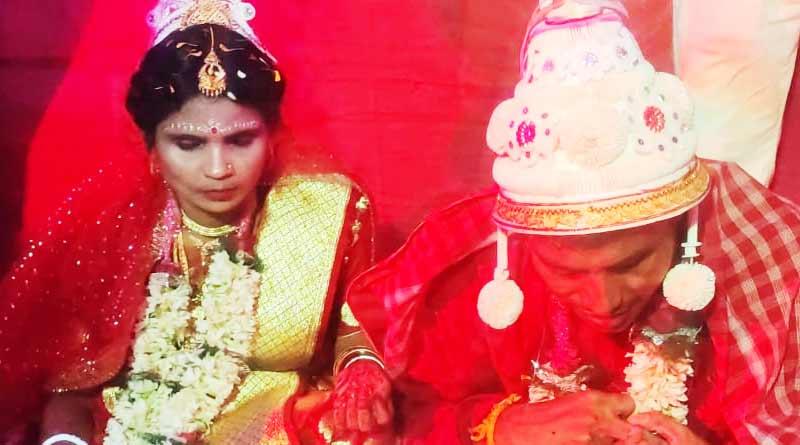 A blind couple got married in siliguri | Sangbad Pratidin