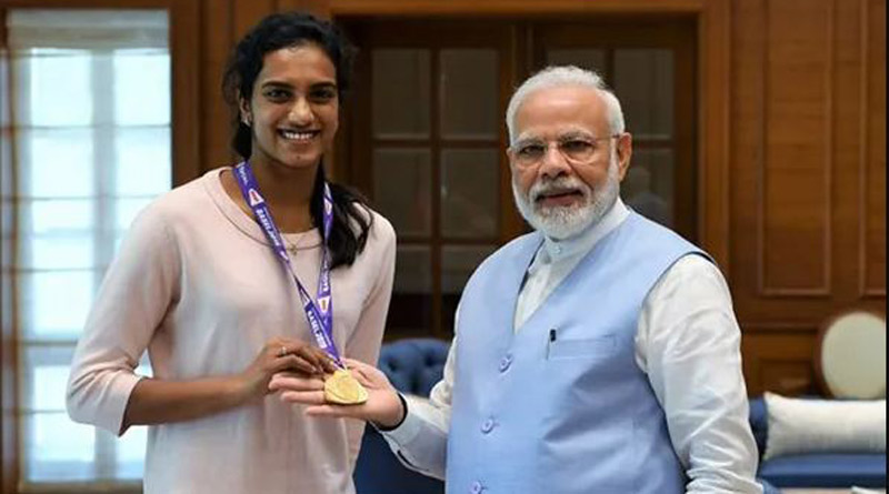I will have ice cream with you after Tokyo Olympics, says PM Modi tells PV Sindhu | Sangbad Pratidin
