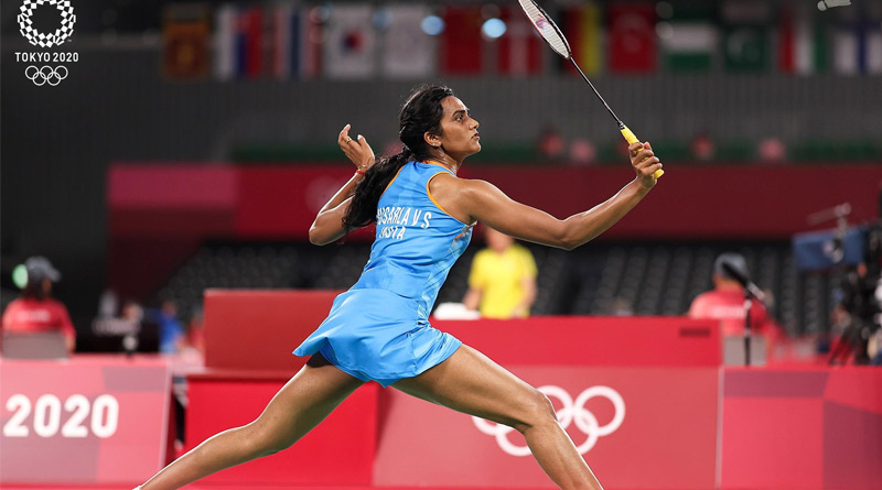 PV Sindhu storms into knockout stage, wins final Group J match in Tokyo Olympics | Sangbad Pratidin