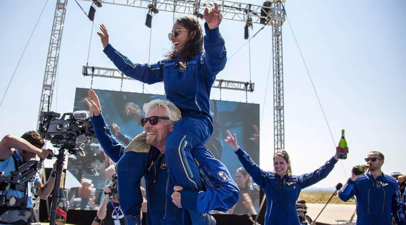 Indian origin astronaut Sirisha Bandla expresses her joy after 'incredible' flight to edge of space | Sangbad Pratidin