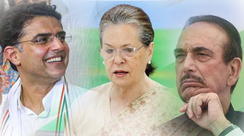Sonia Gandhi to continue as Congress president, Ghulam Nabi Azad and Sachin Pilot may get key posts | Sangbad Pratidin