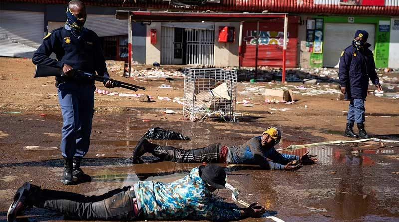 South Africa boils after Jacob Zuma's arrest | Sangbad Pratidin